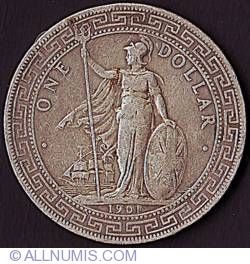 Imaginea #2 a 1 Dollar 1901 B