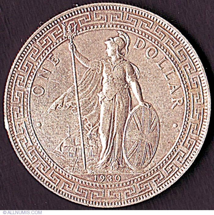 1 Dollar 1930, Britannia Trade Dollar (1895-1935) - Great
