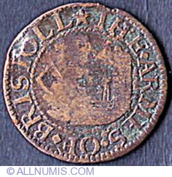 Image #1 of 1 Farthing (1/4 Penny) 1660