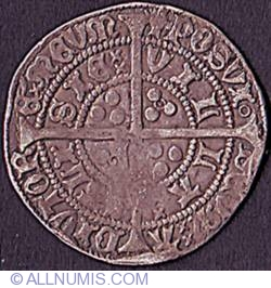 Image #2 of 1 Groat (4 Pence) N.D. (1422-1427)