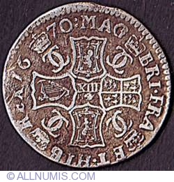 Imaginea #2 a 1 Merk (13 Shillings & 4 Pence) 1670