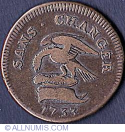 Image #1 of 1 Penny 1733
