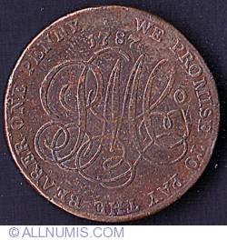 Imaginea #2 a 1 Penny 1787