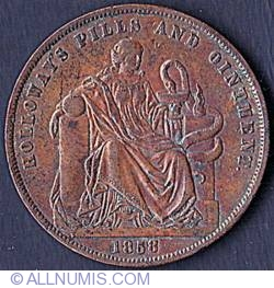 Image #2 of 1 Penny 1858