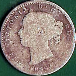 Image #1 of 10 Cents 1862