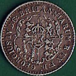 1/16 Dollar 1822