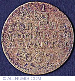 Image #2 of 1/2 Penny 1667