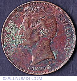 Image #1 of 1/2 Penny 1857