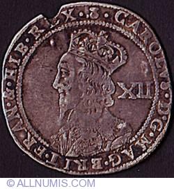 Image #1 of 12 Shillings N.D. (1637-1642)