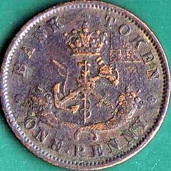 1 Penny 1852