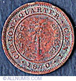 Imaginea #2 a 1/4 Cent 1870