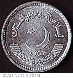 Image #1 of 2 Rupees 2007 - 1st. issue in aluminium.