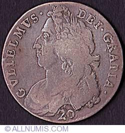 Image #1 of 20 Shillings (1 Pound) 1695