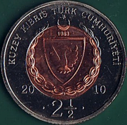 Image #2 of 2-1/2 Lira 2010