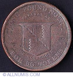Image #2 of 3 Pence 1813 - Error