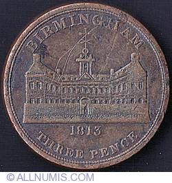 Image #1 of 3 Pence 1813