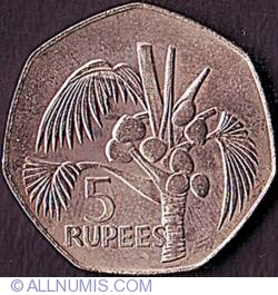 Image #2 of 5 Rupees 1977