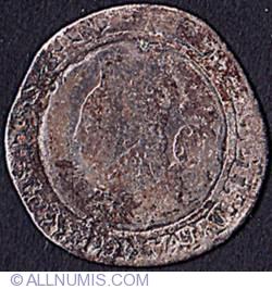 6 Pence 1580 - Latin Cross