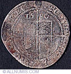 Image #2 of 6 Pence 1580 - Latin Cross