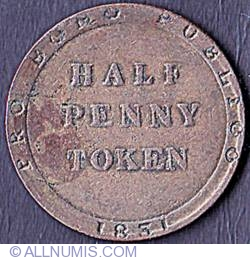 Image #1 of 1/2 Penny 1831