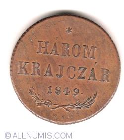Image #1 of 3 Krajczár 1849