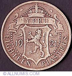 Image #2 of 18 Piastres 1921