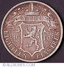Image #2 of 18 Piastres 1901