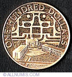 Imaginea #2 a 100 Dolari 1975 - Aniversarea de 30 de ani a Natiunilor Unite