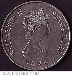 Imaginea #1 a 10 Rupees 1974
