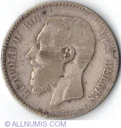 Image #1 of 1 Franc 1886 French