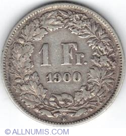 Image #2 of 1 Franc 1900