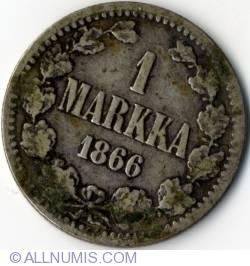 1 Markka 1866