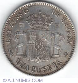 Image #1 of 1 Peseta 1900