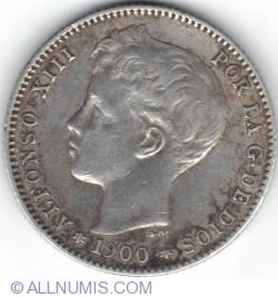 Image #2 of 1 Peseta 1900