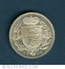 Imaginea #2 a 1 Krone 1900