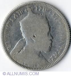 Imaginea #1 a 1/4 Birr 1897 (1889EE)