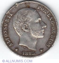 Imaginea #1 a 20 Centimos 1885