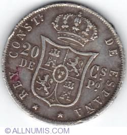 Imaginea #2 a 20 Centimos 1885