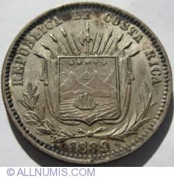 Image #1 of 25 Centavos 1889