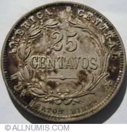 Image #2 of 25 Centavos 1889
