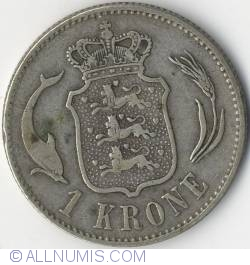 Image #2 of 1 Krone 1875