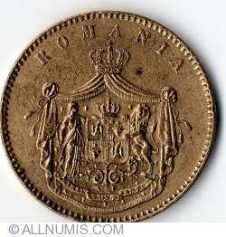 10 Bani 1867 (Watt & Co.)