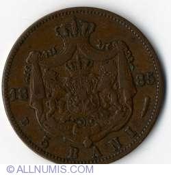 Imaginea #2 a 5 Bani 1885